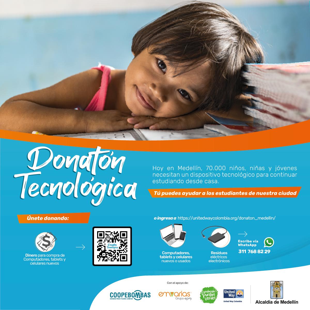 Donatón tecnológica