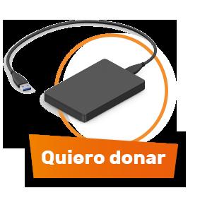 Donar residuos de equipos electrónicos